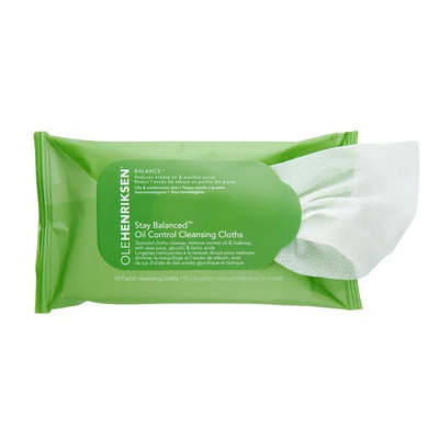 OLEHENRIKSEN Stay Balanced™ Oil Control Cleansing Cloths