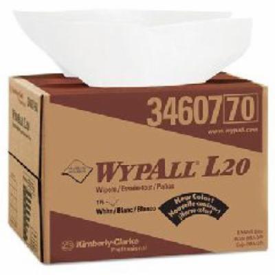 Kimberly-Clark WypAll L20 Wipers - wipers 12.5''x16.8''176wiper box