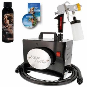 SALON PRO PLUS Sunless Airbrush SPRAY TANNING SYSTEM Kit Belloccio Solution DVD