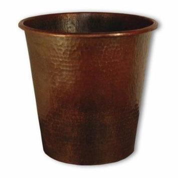 Anitque Copper Waste Basket