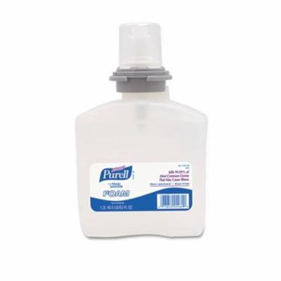Go-Jo Industries 539202EA Advanced TFX Foam Instant Hand Sanitizer Refill, 1200mL, White