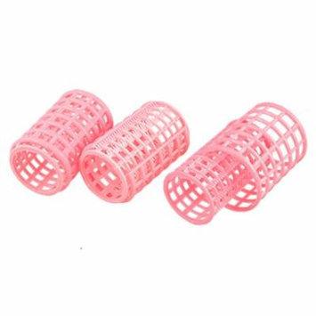 Plastic Hair Rollers Curlers for Short Long Hair DIY 10 Pcs