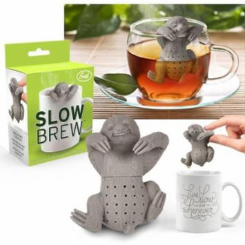 Fred & Friends Slow Brew Sloth Tea Infuser Heat-resistant, BPA-phthalate-free Silicone [2.32