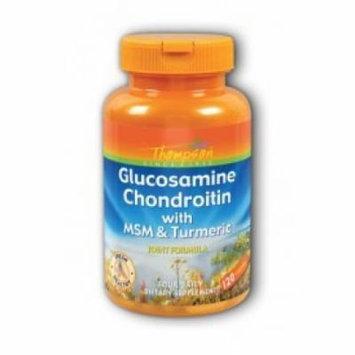 Glucosamine & Condroitin with MSM & Turmeric Thompson 120 Caps