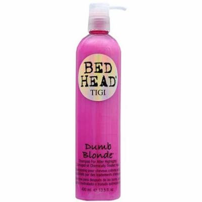 Bed Head Dumb Blonde Shampoo for After Highlights, 13.5 fl oz