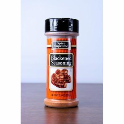 Pack of 12 Spice Supreme Blackened Seasonings 5.5 oz. #30810