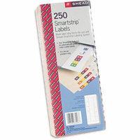 Smead 250pk Smartstrip Refill Label Kit