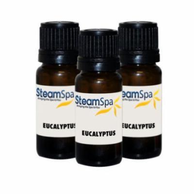 Steam Spa 10ml Eucalyptus Essential Oil Value Pack (Set of 3)