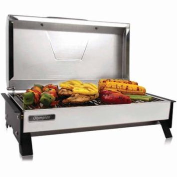 Camco 57240 Olympian 3500-C Stainless Steel 120V Electric Grill