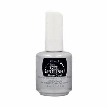 IBD Just Gel 0.5oz UV Nail Polish Foundation Manicure, BASE COAT, 56503