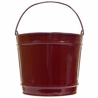 Decorative Pail - Set of 8 (Small in Beige)