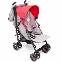 Baby Cargo Series 50 Bundle Stroller and BONUS Diaper Bag, Smoke/Hot Pink