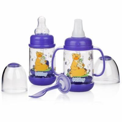 Nuby Infa-Feeder Set, Bear, BPA-Free