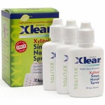 Xlear Nasal Spray By Xlear - 0.75 Fl Oz (3 Pack)