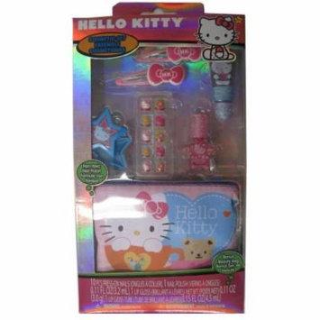 Hello Kitty Girls Lip Balm Nail Polish Cosmetic Set