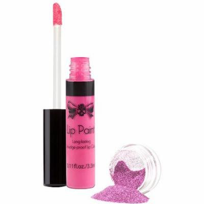 Tattoo Junkee Tickled Pink Lip Paint & Glitter Set, 2 pc