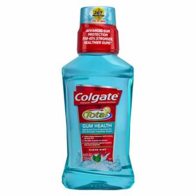 Colgate Total Gum Health Antiplaque Mouthwash, Clean Mint