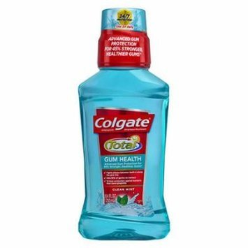 Colgate Total Gum Health Antiplaque Mouthwash, Clean Mint 8.40 oz
