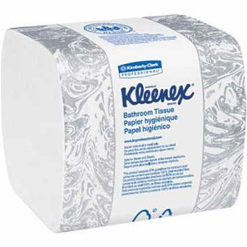 Kimberly-Clark Professional Kleenex Bathroom Tissues, 36 Packs of 250 sheets, 9000 Tissues Total