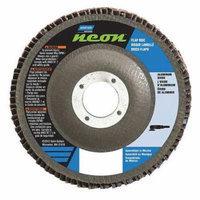 NORTON 66623399039 Flap Disc, 5 In x 80 Grit, 7/8