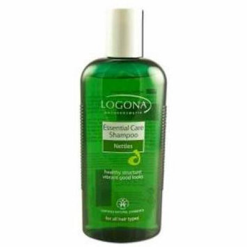 Essential Care Shampoo Nettles Logona 8.5 oz Liquid