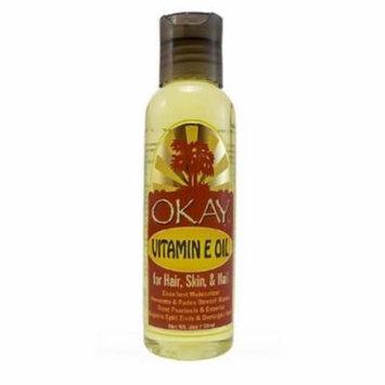 Okay Vitamin E Oil for Hair & Skin, 2 oz