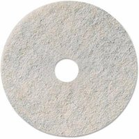 3M Niagara Natural Burnishing Pad, White