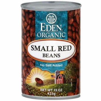 Eden Organic Small Red, 15 oz Beans (Pack of 12)