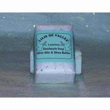 Gardenia Hand Made Soap Lilie De Vallee 5 oz Bar