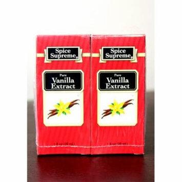 Pack of 24 Spice Supreme Pure Vanilla Extract 1 fl oz. #30910
