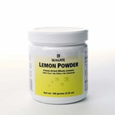 Lemon Powder 100 grams Seagate Vitamins 100 g Caps