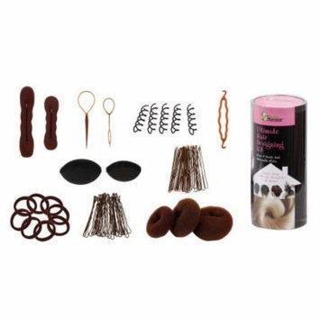 Bundle Monster 9in1 Hair Styling Accessories Kit - Bun Maker Roller Braid Twist