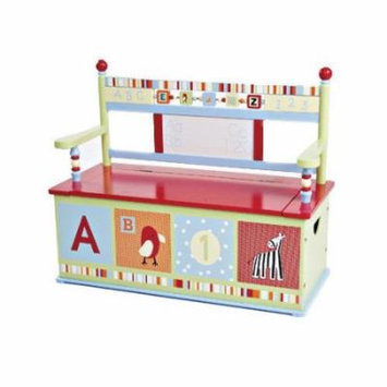 Levels of Discovery Alphabet Soup Kid's Storage Bench