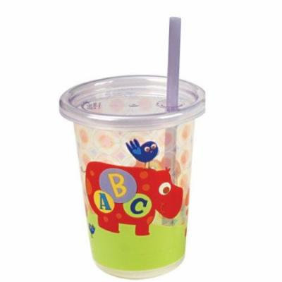 The First Years 3 Pack ABC Fun Take & Toss Straw Cup, Colors May Vary Multi-Colored