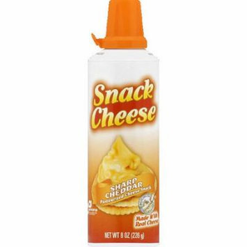 Winona Foods Sharp Cheddar Snack Cheese, 8 oz, (Pack of 12)