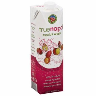 True Nopal Cactus Water, 33.8 fl oz, (Pack of 12)
