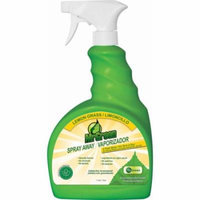 MrGreen Spray Away Odor Eliminator, Lemongrass, 34 oz