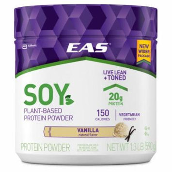 EAS Soy Protein Powder, Vanilla, 1.3 lb (Pack of 6)