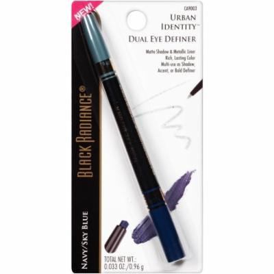 Black Radiance Urban Identity Dual Eye Definer Ca9003 Navy/Sky Blue 0.033 Oz