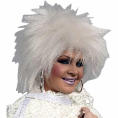 Fright White Shag Wig