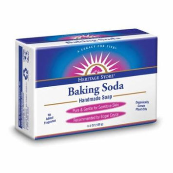 Baking Soda Soap Heritage Store 3.5 oz Bar