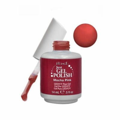 IBD Just Gel 0.5oz Soak Off Nail Polish Pink, MOCHA, 56504