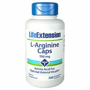 L-Arginine Caps 700 mg Life Extension 200 VCaps