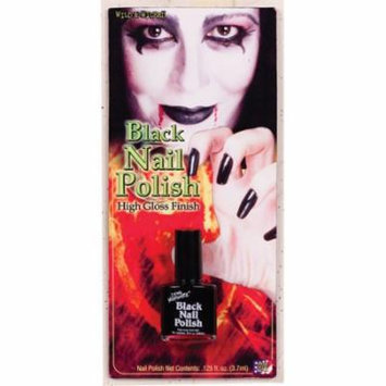Black Nail Polish Halloween Makeup