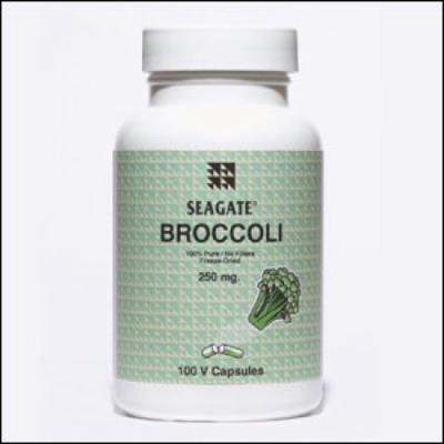 Broccoli 250mg Seagate Vitamins 100 Caps