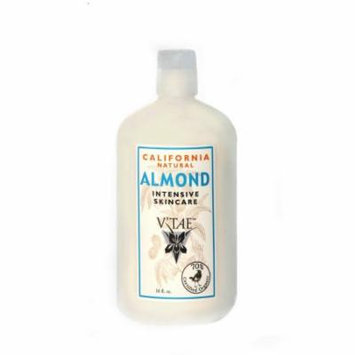 California Natural Almond Intensive Skincare V'TAE Parfum and Body Care 16 oz Lotion