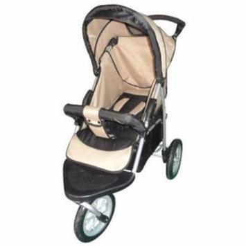 AmorosO 35230 Brown and Black Single Jogging Stroller