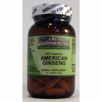 Ginseng American American Supplements 60 VCaps