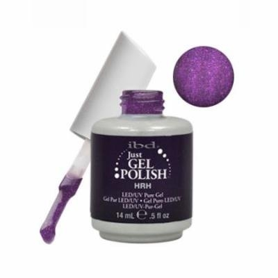 IBD Just Gel 0.5oz Soak Off Nail Polish Purple, HRH ROYAL, 56558