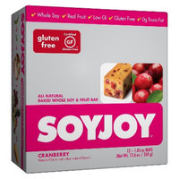 SoyJoy Cranberry Whole Soy and Fruit Bar - 12 Count (1.05 oz Each)